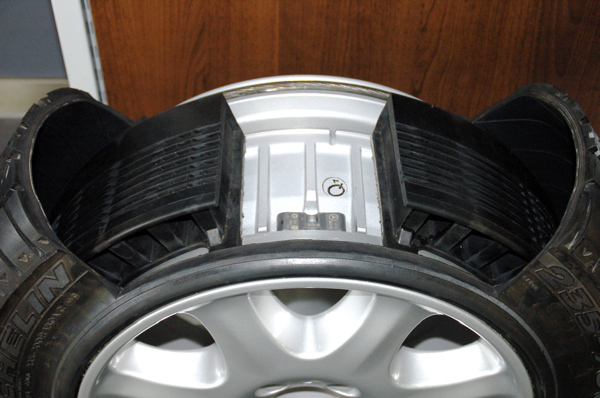 Self-Inflating Tyre Technology