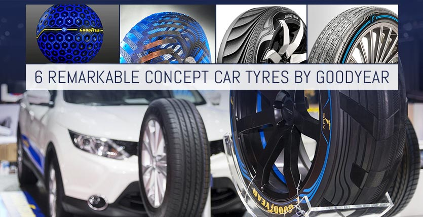 6 Remarkable Concept Car Tyres by Goodyear