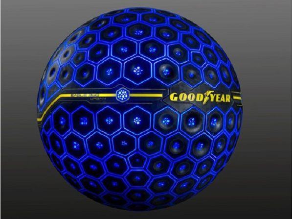 Goodyear Eagle 360 Urban Car Tyres: A Concept Tyre Powered by Artificial Intelligence