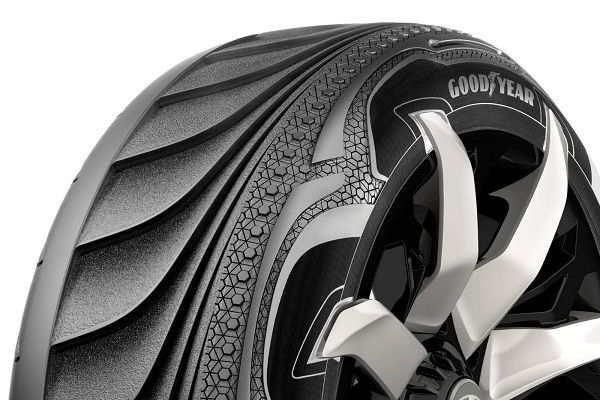 Goodyear Triple Tube a Smart Morphing Tyre Concept