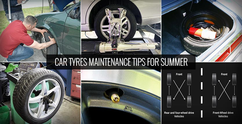 Car Tyres Maintenance Tips for Summer