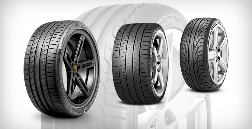 4 Best Sports Car Tires With Great Performance Car Tyres