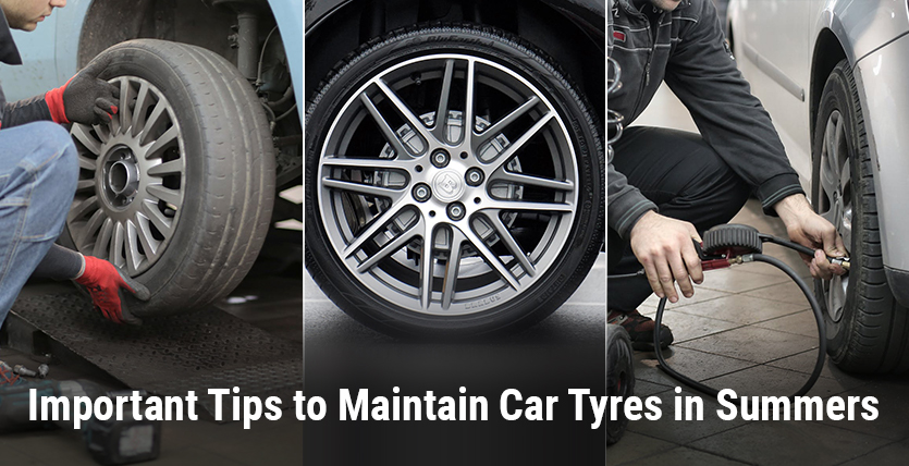 Important Tips to Maintain Car Tyres in Summers