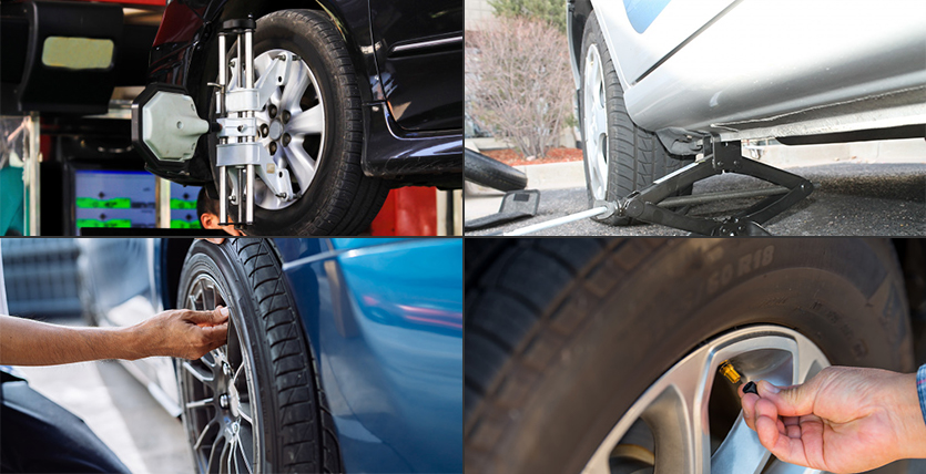 5 Tips for Maintenance of Car Tyres During the Summer Season