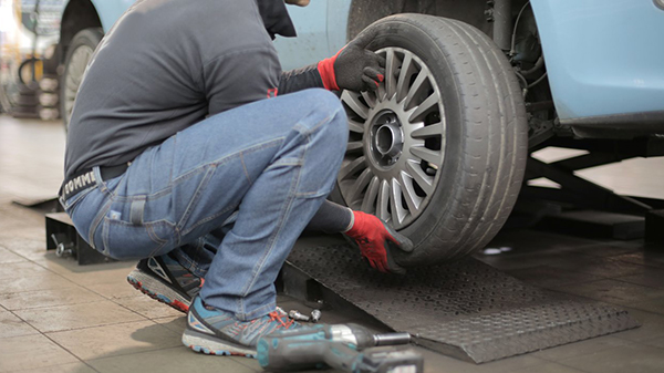 Replace Winter Car Tyres